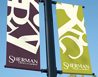 Sherman Library & Gardens™ Rebrand