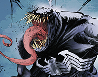 Venom Collaboration! (Color Sample)