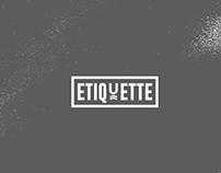 ETIQUETTE BRANDING