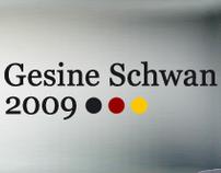 Gesine Schwan - Website