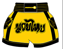 Muay Thai - Hang Tags