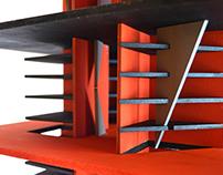 Maqueta: El espacio del arte - Diseño Arquigráfico