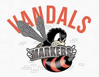MARKERS VANDALS