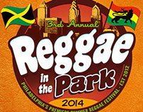 2014 Reggae In The Park Promotional Campaign