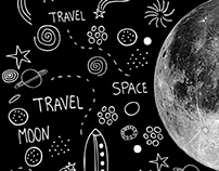 Moon spaceship