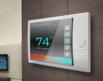 MySeth - Touchscreen Thermostat Design