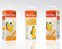 Packaging NutriSari Ready to Drink Pina Colada