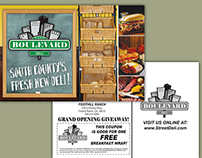 Boulevard Deli Logo, Postcard and Photography