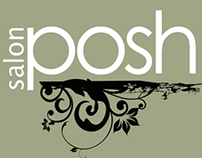 Salon Posh Logo Design