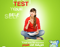 Advertising visible test your self