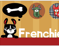 Frenchie Pins Graphic Design