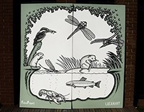 Wildlife Path Illustration