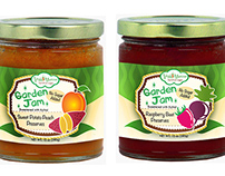 Veggie Mama Jam Jar​ Labels
