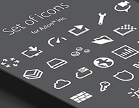 Set of Icons for Azion™ Inc.