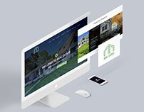 Real Estate - Homepage Design