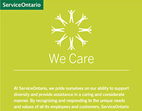 ServiceOntario Employee Posters