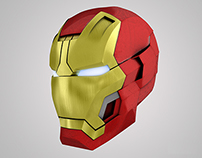 IronMan 3 Mark VIII /42 - Helmet