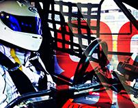 Brochure para piloto kartismo