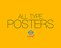 SEED - All Type Posters