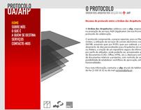 Protocolo Ordem dos Arquitectos / AHP