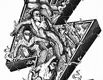 SMOKIN' HEROES | concept art