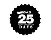 GAS 25 DAYS