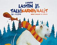 Childrens festival illustrations