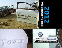 2012 Videography Reel - VW Passat Launch - Dead Sea