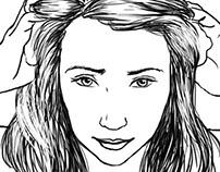 Instructional beauty illustrations, 2014