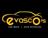 Evasco's Car Wash & Auto Detailing Logo Design