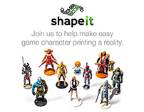 Shapeit Kickstarter Video 2014
