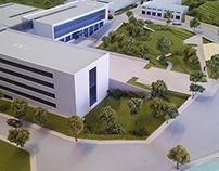 Scaled Model of the Hitit University
