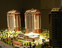 Crystal Towers Residential Complex Project Model