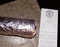 Chipotle Burrito Resume