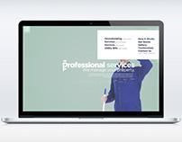 pservices website