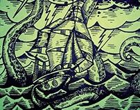 Kraken Old Poster