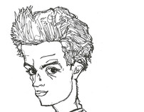 Schiele is my teacher