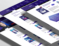 Web-site design for Crest 3D White selling company