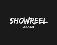 Showreel 2010-2016