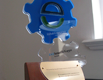 Rehab Smurfit - Custom Designed and Made Trophy