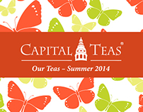 Capital Teas Catalog: Summer 2014