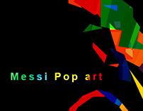 Messi Pop art