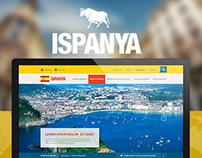 Ispanya | Web UI/UX Design