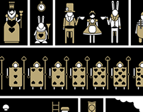 2012 - Alice in Wonderland icon-set
