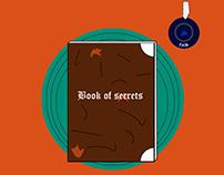 Book of secrets vector art
