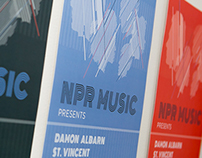 NPR Music, SXSW Posters