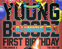 Youngbloodz: First Birthday (Mushpost) - 27 June 2013