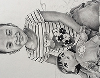 Drawing of my niece natalie; she's 3