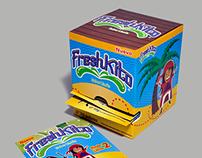Packaging for Freshkito.