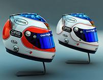 3D // Arai Helmet 2010 - R. Barrichello